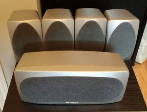 Polk Audio RM6005 Home Theater Speaker System (Titanium)