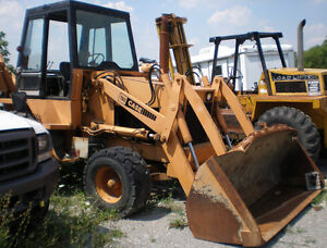 79 CASE 780 Backhoe Loader Tractor, diesel