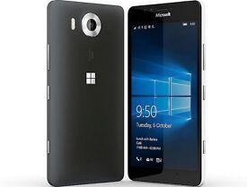 Microsoft Lumia 950 XL Mobile Phone 4k LCD Screen 20 megapixel Camera Only £125.00