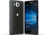 Microsoft Lumia 950 XL Mobile Phone 4k LCD Screen 20 megapixel Camera Only £125.00