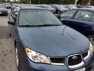 2007 Subaru Impreza 2.5i SE Manual Hatch
