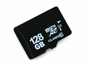 128 GB Micro SD Card with adapter, brand new