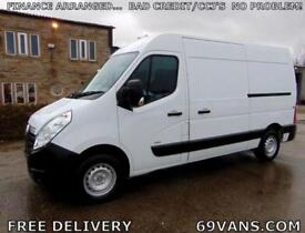 2014 64 VAUXHALL MOVANO MWB, ONE OWNER, FULL DOCUMENTED SERVICE HISTORY, L2H2,