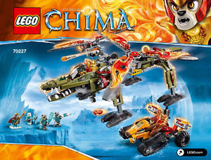 **BRAND NEW LEGO LEGENDS OF CHIMA KING CROMIUS'S RESCUE #70227**