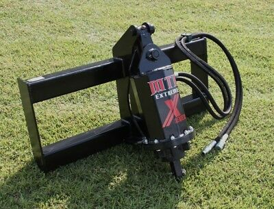 Mtl Attachments X-series Skid Steer Auger-direct Drive Planetary Gear-ship Free