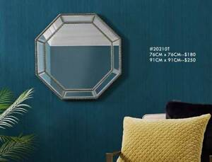 Popular Octagon Decorative Wall Mirrors 76x76cm 91x91cm Mirrors