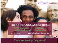 INTENSIVE FRENCH COURSES (10 weeks) ***October 2016 ***Book now!