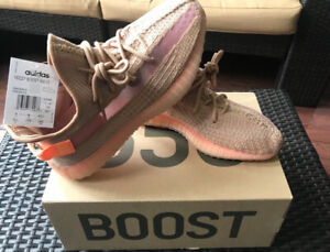 a88d7540db744 Yeezy Boost 350 Clay sizes 9.5
