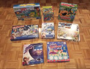 Jeux: mouse trap, Hippos, opération, reine des neiges, petshop