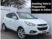 2011 11 Hyundai ix35 2.0CRDi 16v ( 4WD ) Premium Manual for sale in AYRSHIRE
