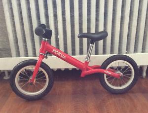 KOKUA Like-A-Bike Vélo d'équilibre en Rouge- Red Balance Bicycle