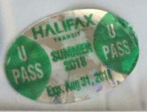 Student Summer Bus Pass - expires Aug 31, 2018