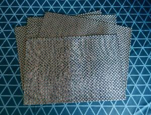4 napperons table extérieure / intérieure couleur bronze