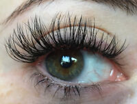 Eyelash Extensions means no need for makeup in the heat!!