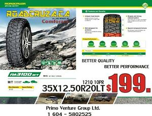 35X12.50R20LT M/T  MUD TIRE   WHOLESLE DIRECT