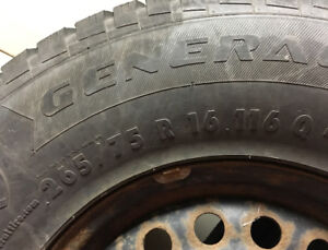 4 Jeep Wrangler Winter Tires with Rims