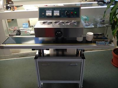 Usa Stocked Lgyf-2000bx Continuous Induction Plastic Bottle Sealing Machine
