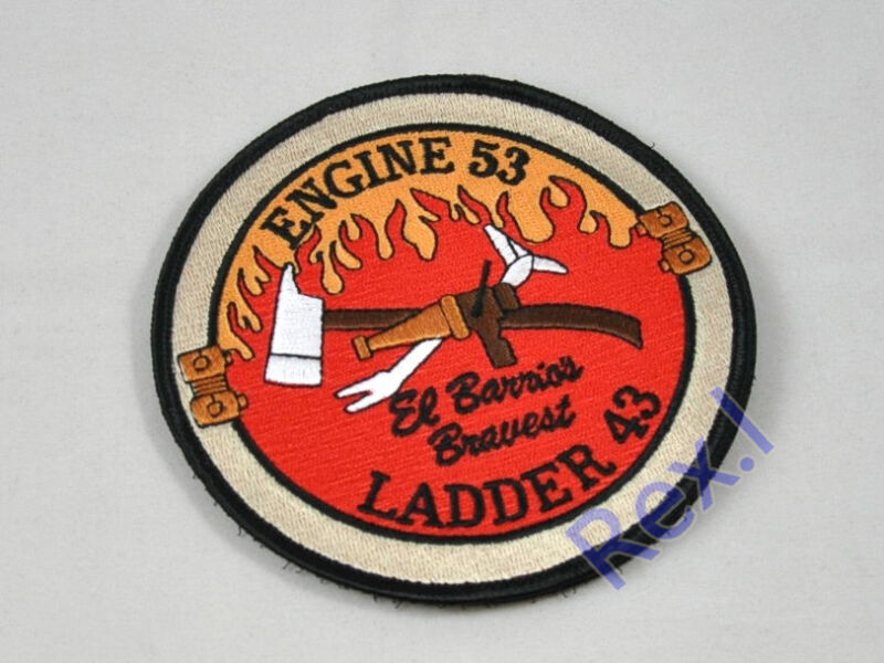 Navy SEAL Operation Red Wing Murphy Engine 53 Ladder 43 Firefighter Patch