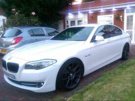 BMW 520D White F20