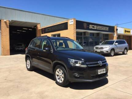 2013 Volkswagen Tiguan 132TSI PACIFIC EDITION 4X4 AUTO BLACK Hindmarsh Charles Sturt Area Preview