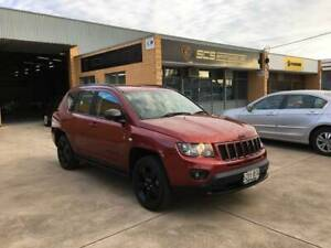 2014 JEEP COMPASS BLACKHAWK EDITION AUTO FULL SERVICE HISTORY Hindmarsh Charles Sturt Area Preview