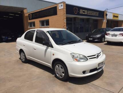 2003 Toyota Echo Sedan SERVICE HISTORY GOOD CONDITION Hindmarsh Charles Sturt Area Preview