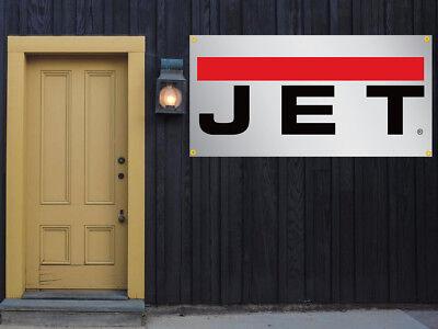 Jet Tools Vinyl Banner 2x4 13 Oz. Garage Or Trade Shows Ready Hang Equipment
