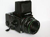 MINT! Zenza Bronica ETR C (645) with Zenzanon EII 75mm f2.8 lens