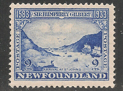 Newfoundland Scott    219    Mint Hinged