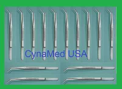 15 College Cotton Tweezers Pliers 6 Hq Dental Instruments German Stainless Ce
