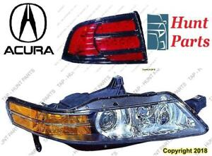 All Acura Head Lamp Tail Headlight Headlamp light Fog Mirror Phare Avant Arrière Antibrouillard Lumière Miroir