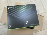 XBOX SERIES X CONSOLE! BRAND NEW SEALED! BOLTON!