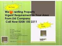 Wanted Property To Rent - Needed ASAP 0% Fees To Landlords - Guaranteed Rent