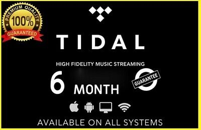 TIDAL HiFi Master    Family 6 Users 6 M0nths    BUY WITH CONFIDENCE