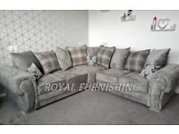 == NEXT DAY DELIVERY == IMPORTED HIGH QUALITY VERONA CORNER OR 3+2 SOFA SET