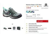 Ladies walking/hiking shoes - Salomon Ellipse 2 GTX