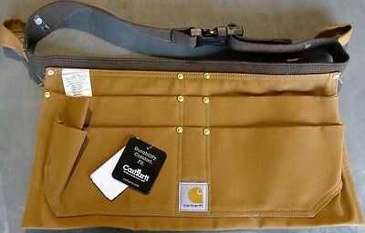 CARHARTT A09 DUCK NAIL APRON BROWN XL EXTRA-LARGE NEW