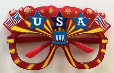 USA Patriotic Pride Glasses Flash 4th July Fourth Independence Day Light (Cheap Glasses Usa)