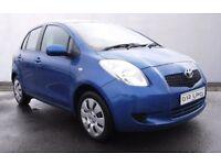 Toyota Yaris Diesel 1.4 D4D 5 door FDSH FREE TAX Parking Sensor 12 MOT Warranty Blue DRIVEAWAY ONO