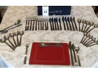 Cutlery - Viners 44 piece set - brand new, modern design , including serving spoons