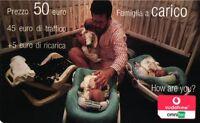 1873 Scheda Ricarica Usata Vodafone Carico 50 2006.12 Variante Taglio - vodafone - ebay.it