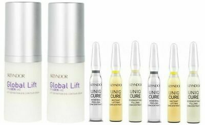 2X Contorno de Ojos Definition Eye Contour 15ML Global Lift + 6 X Concentre 2ML Lift Eye Contour Concentrate