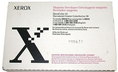 New Genuine Xerox Docucolor 12 Developer Magenta 5r618