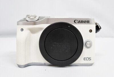 Canon EOS M6 Mirrorless Digital WiFi NFC Bluetooth Camera - Body Only (WHITE)