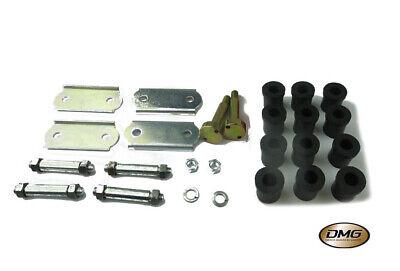 Classic Mini Polyflex Engine Steady Bush Kit 2 Piece Black rover austin morris