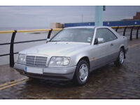Mercedes E220 Coupe W124 Spares or Repair Possible May Break For Parts