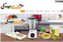 Soup Maker website Online Business for sale with stock Belmore Canterbury Area Preview