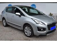 Peugeot 3008 1.6 HDi FAP Active, 2014, Manual - £52 PER WEEK - CAR IS £7495