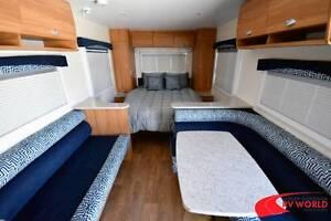 NEW A'van Aspire 525 Caravan - Large living space & island bed Wodonga Wodonga Area Preview