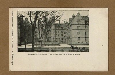 New Haven CT Connecticut Yale University, Vanderbilt Dormitory, circa prior 1907